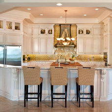 Eclectic Kitchen Cabinetry by Ervolina Associates Inc
