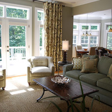 Traditional Family Room by RES Interiors, LLC