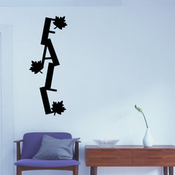 Fall Vinyl Wall Decal hd143, Orange, 18 in. - Vinyl Wall Quotes are an awesome way to bring a room to life!