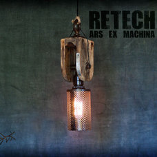 Eclectic Pendant Lighting by ReTech