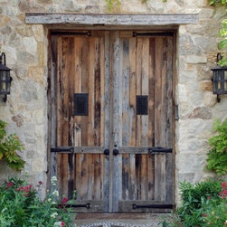 Exterior Door Hardware Decoration - Judas Grille for gate or door - pictured in rust and wax.  Trade discounts available.
