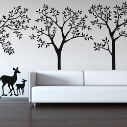 Forest Theme Decal