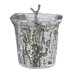 Zodax - Artisan Aluminum Ice Bucket with Lid - Made from aluminum. Made in India. 8 in. Dia. x 8 in. H (4.36 lbs.)