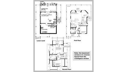 Plan W9812SW: Ultimate Retreat