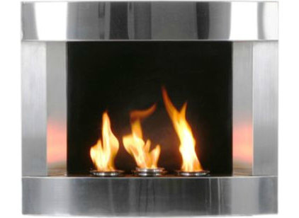 Contemporary Indoor Fireplaces by Grandin Road