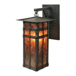 Steel Partners Inc - Hanging Sconce - SAN CARLOS - Every piece we create is unique — handcrafted at our factory in Chehalis, Washington, USA. Due to this, lead times are 2 to 4 weeks.