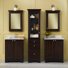 Contemporary Bathroom Vanities And Sink Consoles by Mid Continent Cabinetry