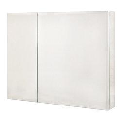Pegasus - Bi-View Beveled Mirror Medicine Cabinet - SP4 - Manufacturer SKU: SP4584. Includes ...