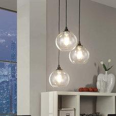 Contemporary Pendant Lighting by Overstock.com