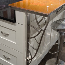 Modern Kitchen Countertops by Interiors by Mary Susan