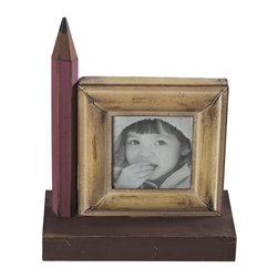 Sterling Industries - Sterling Industries 129-1048 Pencil Picture Frame - Small - Picture Frame (1)