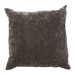 """Jaipur Rugs - Jaipur Luxe Handmade Linen/ Cotton Charcoal Pillow (16"""" x 24"""") - The Luxe collection is affordable luxury in one small package. Luxe is offered in both a 20�x20� throw pillow and a lumbar size. Luxe is ultra-soft with a velvety texture and linen backing giving it an updated and sophisticated edge. Jaipur Luxe Handmade Linen/ Cotton Black Pillow (16""""x24"""") LUX07. USA. 50% Linen 30% Cotton 20% Acrylic"""