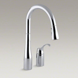 Transitional Kitchen Faucets Find Kitchen Sink Faucets Online