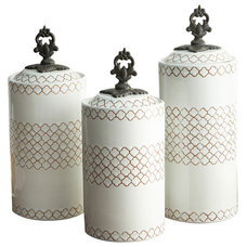 Contemporary Kitchen Canisters And Jars by Jay Import