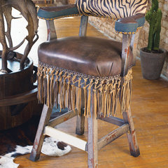 eclectic bar stools and counter stools by Crow's Nest Trading Co.