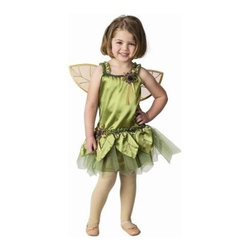 Aeromax Garden Fairy with Wings - Her imagination will soar wearing the Aeromax Garden Fairy with Wings. You and your fairy princess will both love the superior quality of this set. The green dress has a silky satin front soft knit back and built-in tutu. The detachable wings are filled with glitter and flower appliques. It's designed for kids 2 to 8 years old and comes in your choice of size. Sizing Details: Size 2/3 fits age 2-3 yrs. Size 4/6 fits ages 4-6 yrs. Size 6/8 fits ages 6-8 yrs. About Aeromax Toys Inc.Based in Barrington Illinois Aeromax Toys specializes in imaginative dress-up outfits and accessories for kids. From their Get Real gear to Kids Safari outfits they inspire kids' imaginations. Some of the many awards Aeromax Toys has won over the years include awards from Nick Jr. iParenting Media Early Childhood News Awards and more. Aeromax Toys is a proud member and supporter of American Specialty Toy Retailing Association (ASTRA) and Toy Industry Association (TIA).