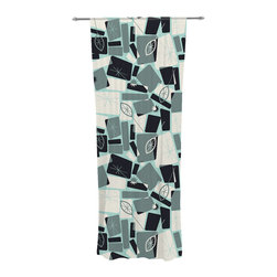 """Kess InHouse - Allison Beilke """"Vacation Days Chess"""" Decorative Sheer Curtain - Let the light in with these sheer artistic curtains. Showcase your style with thousands of pieces of art to choose from. Spruce up your living room, bedroom, dining room, or even use as a room divider. These polyester sheer curtains are 30"""" x 84"""" and sold individually for mixing & matching of styles. Brighten your indoor decor with these transparent accent curtains."""
