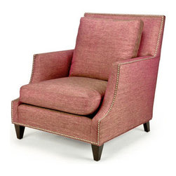 Transitional & Contemporary Favourites - Custom Order Tufted Armchair: Jack