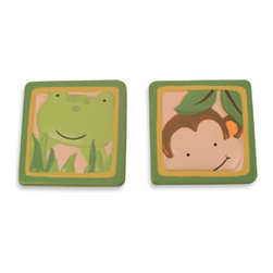 Buy Lambs & Ivy Papagayo Drawer Pulls - How cute are these?