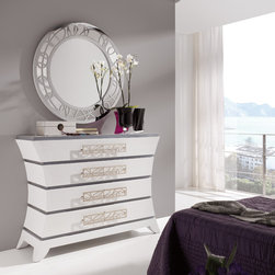 Macral Design. Beds, Headboards, Nightstands and dresser -