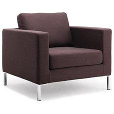 Modern Chairs Portobello Coffee Premium Easy Chair
