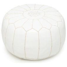 Contemporary Ottomans And Cubes by Pure Home