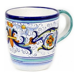 Artistica - Hand Made in Italy - Vecchia Deruta: Mug - Vecchia Deruta Collection: (Old Deruta)