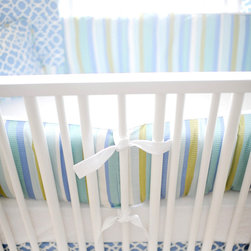 New Arrivals Inc. - By the Bay Crib Bumper - By the Bay Crib Bumper