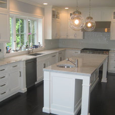 Contemporary Kitchen by Marble Doctors LLC