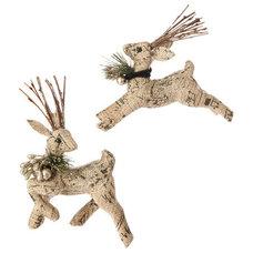 Rustic Christmas Ornaments by Elizabeth's Embellishments