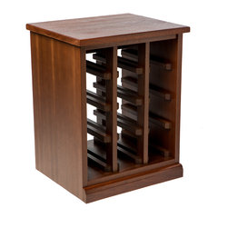 Kessick Wine Cellars - Stain color options on Sapele Mahogany - Kessick Wine Cellars - Standard color options on Sapele Mahogany: Walnut color
