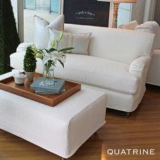 Traditional Loveseats by Quatrine Custom Furniture