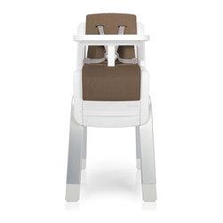 Zaaz High Chair, Almond - Perfect Fit