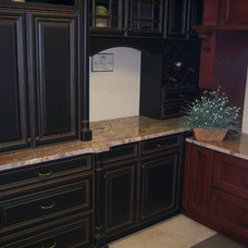 Traditional Kitchen by Amy Burke @ Florida Custom Marble