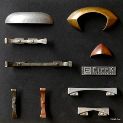Hardware - Eleek Hardware - Available in 100% recycled cast aluminum or 90% recycled cast bronze.