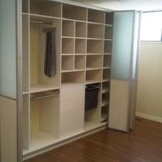 Modern Closet Organizers by Komandor Closets by Josee Drolet
