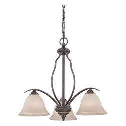 Quoizel - Quoizel VTA5103 Ventura 3 Light 1 Tier Chandelier - Features: