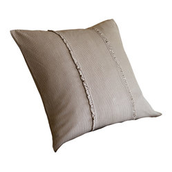 Farmhouse Stripe Boudoir Pillow