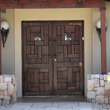 Front Doors by Van Acht Wooden Windows and Doors
