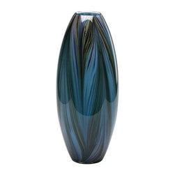 Peacock Feather Vase - Peacock Feather Vase