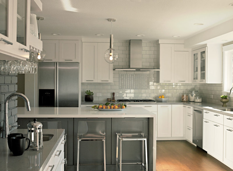 contemporary kitchen by Fiorella Design