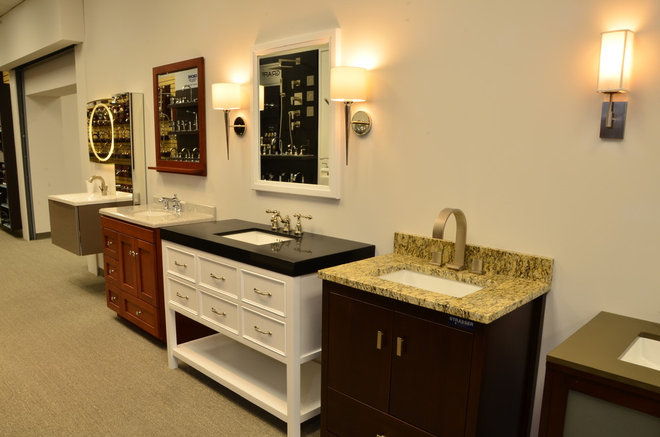 Traditional Bathroom Vanities And Sink Consoles by THE SOMERVILLE SHOWROOM