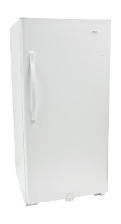 Haier - HUF138PB 13.8 Cu. Ft. Capacity Frost-Free: UL Commercial Rated - Save money by buying frozen foods and meats and keeping them in this full-size freezer With plenty of space and shelving theres room for everything