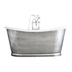 "Penhaglion - The Whitby 68"" Cast Iron French Bateau Tub Package from Penhaglion - Product Details"