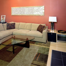 Contemporary Living Room by Sophie Piesse Architect, PA