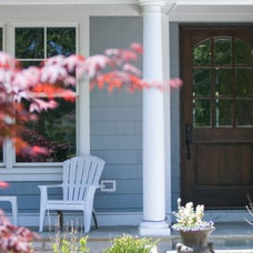 Traditional Porch by Oakley Home Builders