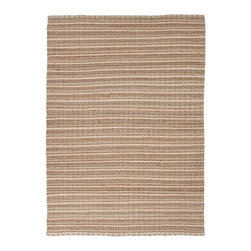 Jaipur - Natural Fiber Andes 5'x8' Rectangle Driftwood-Driftwood Area Rug - The Andes area rug Collection offers an affordable assortment of Natural Fiber stylings. Andes features a blend of natural Stone-Stone color. Flat Weave of 70% Cotton 30% Jute the Andes Collection is an intriguing compliment to any decor.