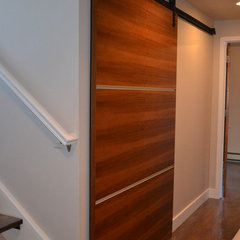 contemporary interior doors by Fedewa Custom Works