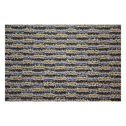 Dean Flooring Company - Dean Indoor/Outdoor Island Patio Deck Boat Entrance Area Rug/Carpet 6'x8', Gray - Indoor/Outdoor Patio Deck Boat Entrance Area Rug/Carpet by Dean Flooring Company.