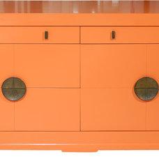 Asian Dressers Orange Ming Era Dresser